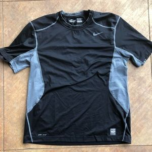 Nike Pro-combat fitted compression shirt